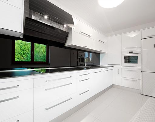 Kitchen Black Walls Design Ideas